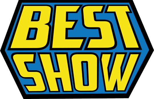Get Your Hands On A Beautiful Best Show Sticker In The Shape Of Our Amazing Logo